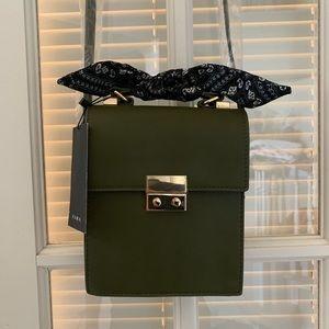 NWT ZARA Army Green Crossbody Bag